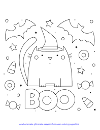 Choose your favorite coloring pages, print and supply your kids with cool crayons or markers, then watch them color away. 75 Halloween Coloring Pages Free Printables