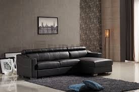 leather folding corner sofa bed with storage chaise and full size mattress