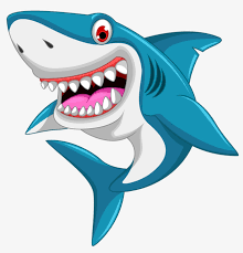 shark clipart. Brilliant Clipart Cartoon Great White Shark Cartoon Clipart Shark Tooth PNG Image  And Clipart Inside I