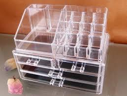 Make Up Stands And Displays Custom Acrylic Cosmetic OrganizerPlexiglass Makeup StandsMakeup Drawers
