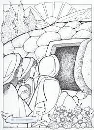 Kleurplaat Paasfeest 3 10 Jaar Bijbels Opvoedennl