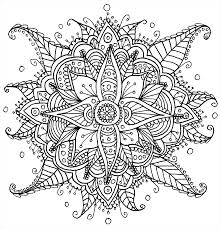 57 Dessins De Coloriage Mandalas Fleurs Imprimer Sur Laguerche Coloriage Mandalas Fleurs L