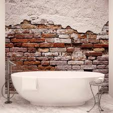 image is loading wall mural photo wallpaper l old painted brick