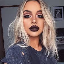 beautiful dark makeup look love the heavy eyes heavy foundation and powders men