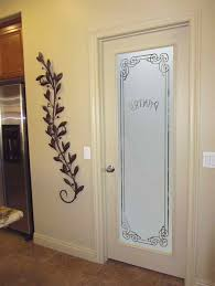 marvelous frosted glass pantry door with toilet room metal