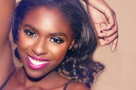 tymia yvette baltimore makeup artist mercial print
