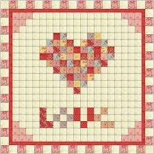 587 best MODA QUILTS images on Pinterest | Fashion, Colors and Cook & Free pattern by Alison Tudor on Moda's Bake Shop Have A Heart Baby Quilt  using 3 Sisters Printemps fabric idéal pour montrer son amour Adamdwight.com