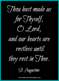 St Augustine Quotes Enchanting Restless Hearts St Augustine Inspirational Quotes Pinterest