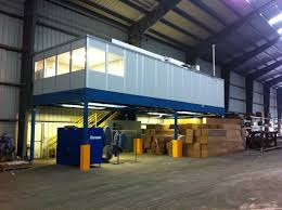 Warehouse mezzanine modular office Info Warehouse Modular Offices And Mezzanines Cranston Material Handling Equipment Modular Office Systems Cranston Material Handling Equipment
