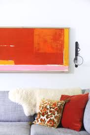 DIY abstract art complete with step by step photos