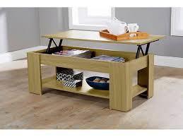 caspian lift top coffee table with storage shelf espresso walnut oak white oak co uk kitchen home