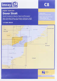 Dover Strait Chart Imray Chart C8 Dover Strait North Foreland To Beachy Head
