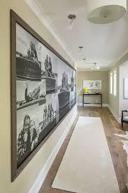 Decorating: Display Family Portraits On Hallway - Photos Display