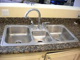 top mount sink with granite countertops custom stainless replacement kitchen sinks top mounted sinks granite countertops