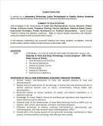 Lab Experience Resume Sample Resume For Lab Assistant Technician Resu on  Inspirational Images Of Sample Cra