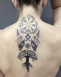Tree Of Life Tattoo On Back Tattoos Designs For Women Tattoos