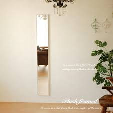 light wood frame white brown white wall wall mirror full length full length large