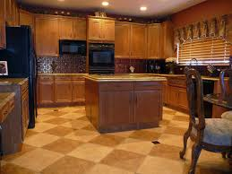 Tile Kitchen Floors Kitchen Tile Floor Ideas With Light Wood Cabinets Cliff Kitchen