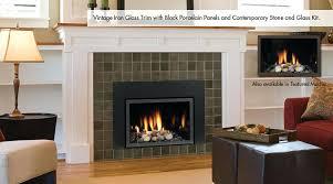 gas fireplace trim kits harmony direct vent gas fireplace inserts by hearth majestic gas fireplace trim