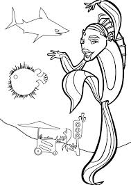 Small Picture Shark Tale Oscar Kung Fu Style Coloring Pages Batch Coloring