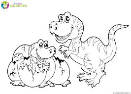 Actie T Rex Kleurplaten Kids N Fun Kleurplaten Van Dinosaurussen T