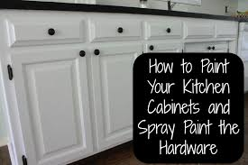 Paint Your Kitchen Cabinets Painting Our Kitchen Cabinets All Things New Interiors