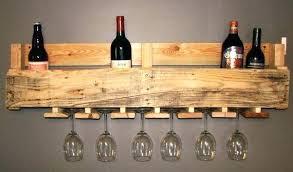 wooden wine glass rack wooden wine glass holder wood pallet wine and wine glass rack random