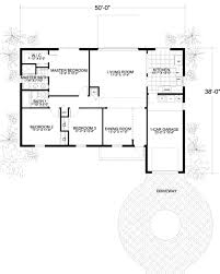 Square Kitchen Floor Plans Mediterranean Style House Plan 3 Beds 200 Baths 1320 Sq Ft Plan