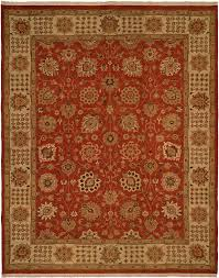 hacienda hac 50 rust ivory flat weave hand knotted 100 wool rugs on