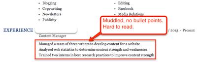 Muddled Linkedin Labs Resume