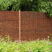 fence panels designs. The Wild Card - Willow Hurdle Fencing Panels: Fence Panels Designs
