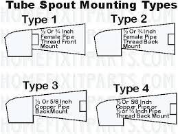installing a bathtub faucet replacement spout gate bathtub spout replacement repair leaking bathtub faucet single handle installing a bathtub faucet