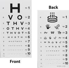 Allen Eye Chart Hilco Vision