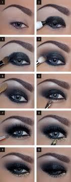 step by step eye makeup tutorial for dark