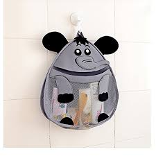 ownfun bath toy animal organizer bathroom toy mesh net baby toy storage holder with