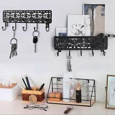 home décor keys hanger hook white key