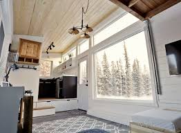 Small Picture Open Concept Rustic Modern Tiny House Photo Tour and Sources Ana