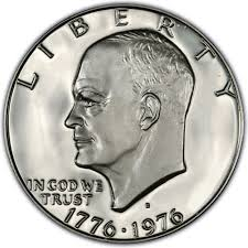 1976 Eisenhower Dollar Values And Prices Past Sales