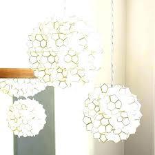 pottery barn lighting chandelier lotus flower pendant light chandeliers euro design white g59