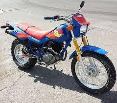 yamaha tw200 motorcycles