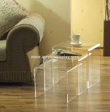perspex furniture. Acrylic Nest Table Perspex Furniture A