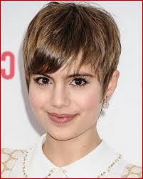 Short Hairstyles For Round Faces And Thick Hair 150065 Pixie
