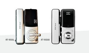 the surface mounted rite touch rt1050 digital glass door lock provides flexible keyless access control for glass doors