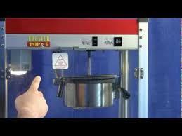 popcorn machine instructions