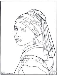 Small Picture Famous Artwork Coloring Pages nebulosabarcom