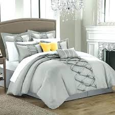 decorative bed pillow sets. Interesting Decorative Contemporary Decorative Bed Pillow Sets Bedding Pillows Silver  Comforter Set King 8 Piece Shams Grey Bedroom  In