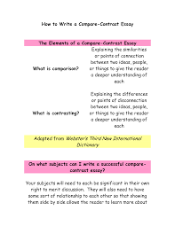Compare Two People Essay Essay Compare And Contrast Two Cultures Conflict