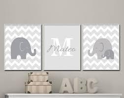 grey and white nursery wall art elephant nursery art prints baby boy or girl nursery arty suits grey and white decor name wall art h358 on baby elephant wall art for nursery with elephant nursery art etsy