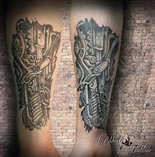 Biomechanická Tetování Marťa Tattoo Studio