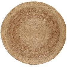 anji mountain kerala tan braided 8 ft jute round area rug